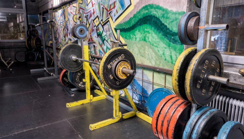 Stora vikter styrketräning